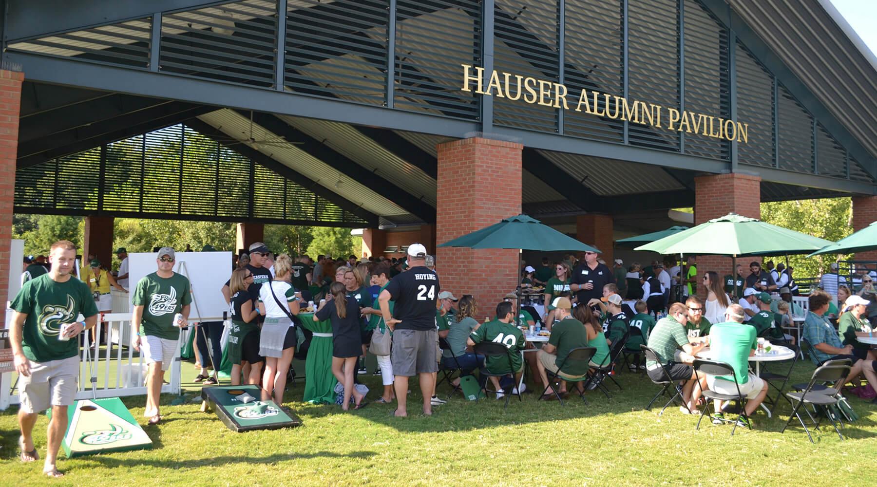 Hauser Alumni Pavilion