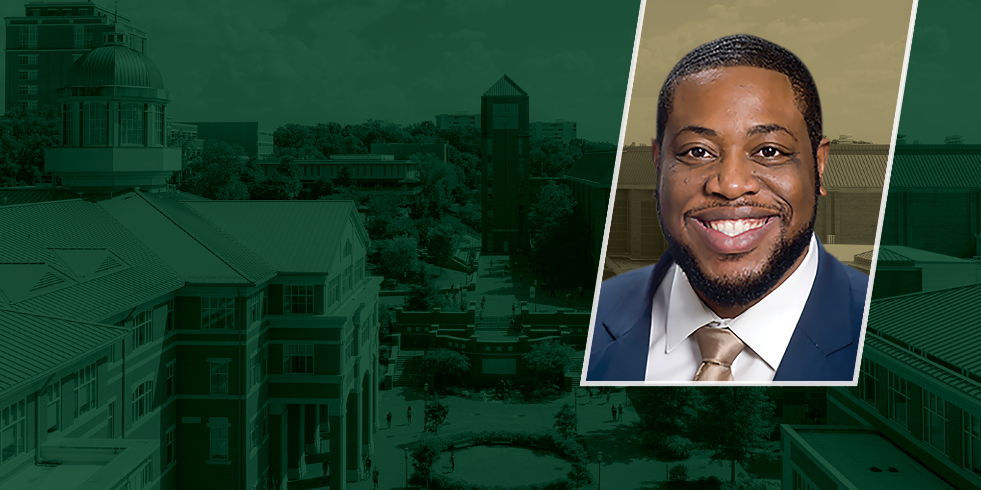 Dr. Brandon L. Wolfe will join UNC Charlotte on Nov. 1, 2021, as the University's inaugural associate vice chancellor for diversity and inclusion and chief diversity officer (CDO).