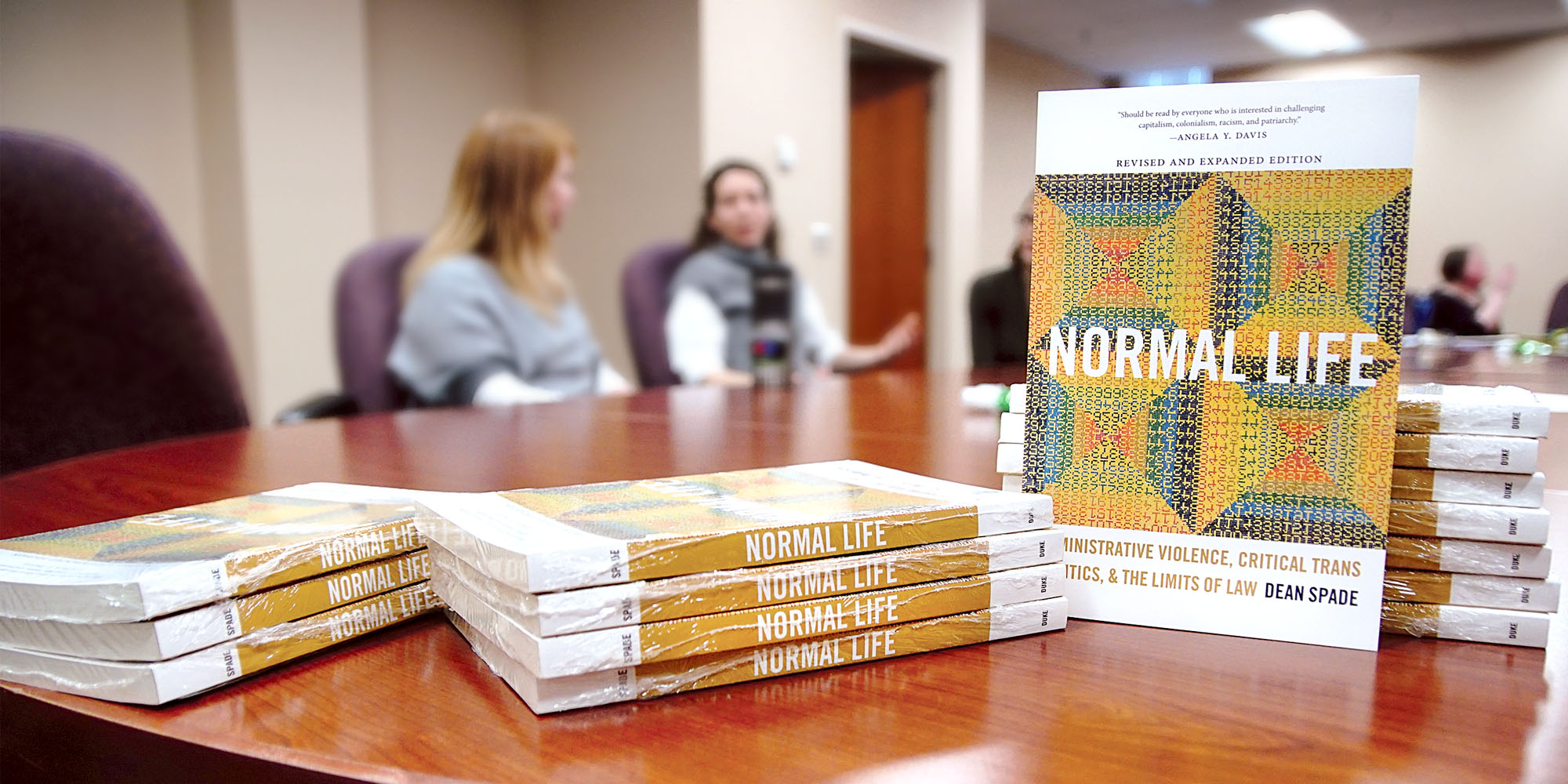 Dean Spade's Normal Life (2015) is the focus of the Diversity Reading Group