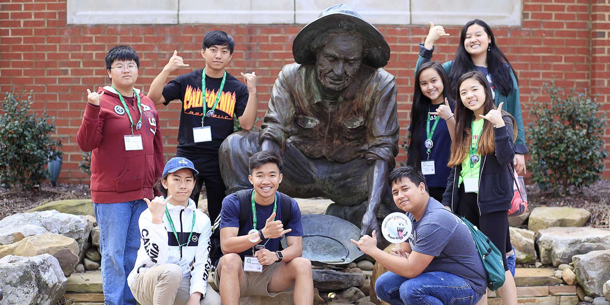 UNC Charlotte Hmong students