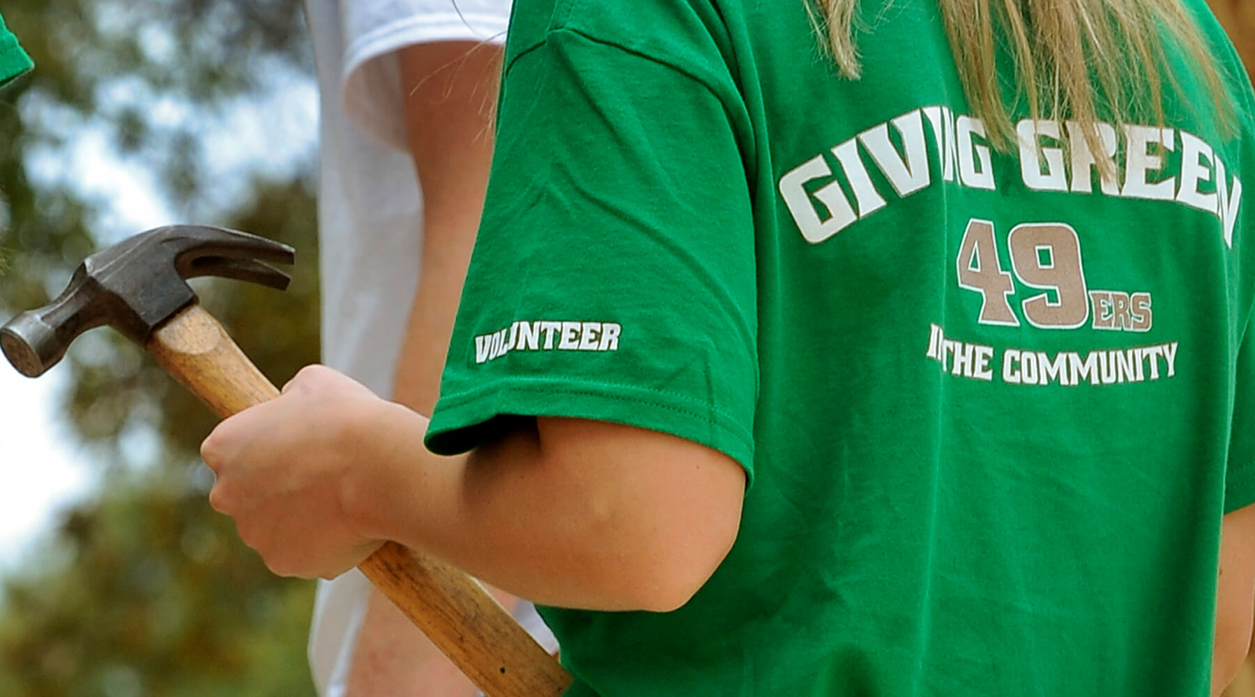 Giving Green t-shirt