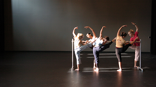 dancers at a barre