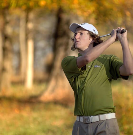 UNC Charlotte Golfer