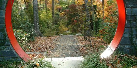 Botanical Gardens Moon Gate