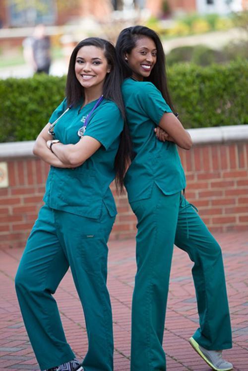 CHHS nursing students